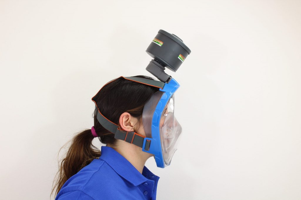 Full face snorkeling masks